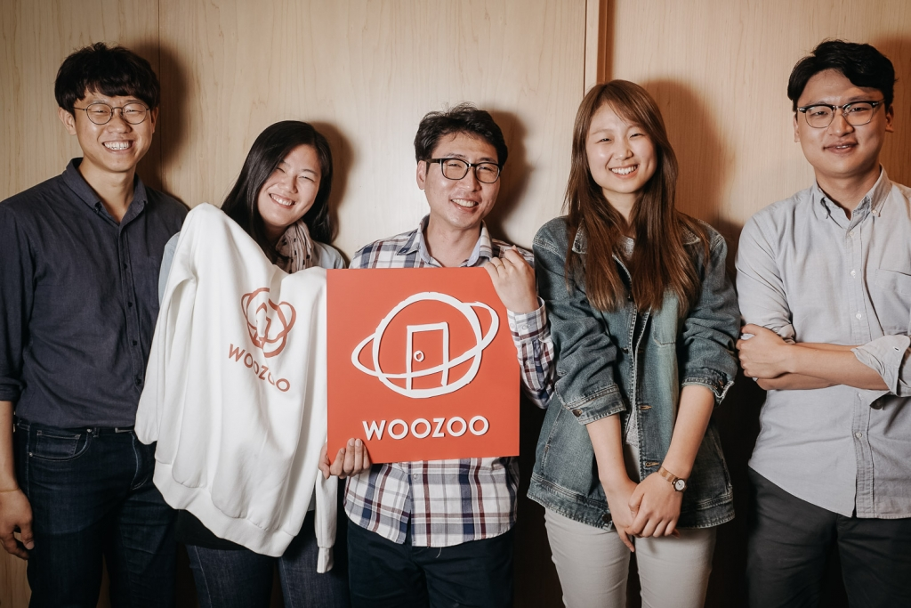 A equipe da Sharehouse Woozoo. Foto: Korea Exposé.