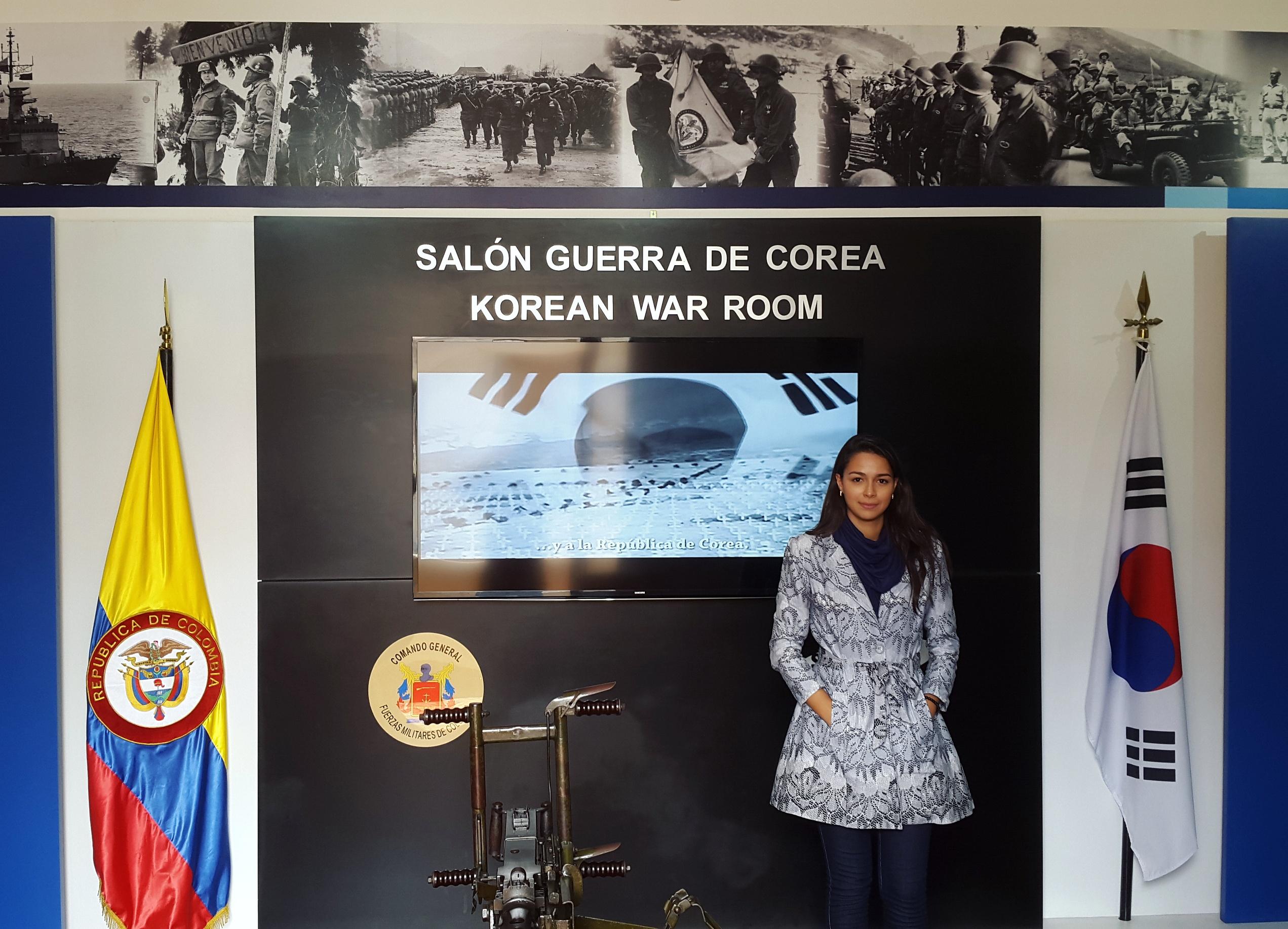 Sala Guerra da Coreia, Museu Militar, Bogotá.