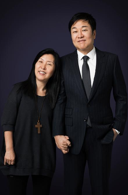 Do Won e Jin Sook Chang. Foto: Forbes