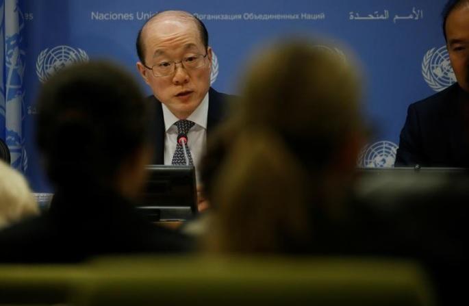 Embaixador da China para o CSNU.