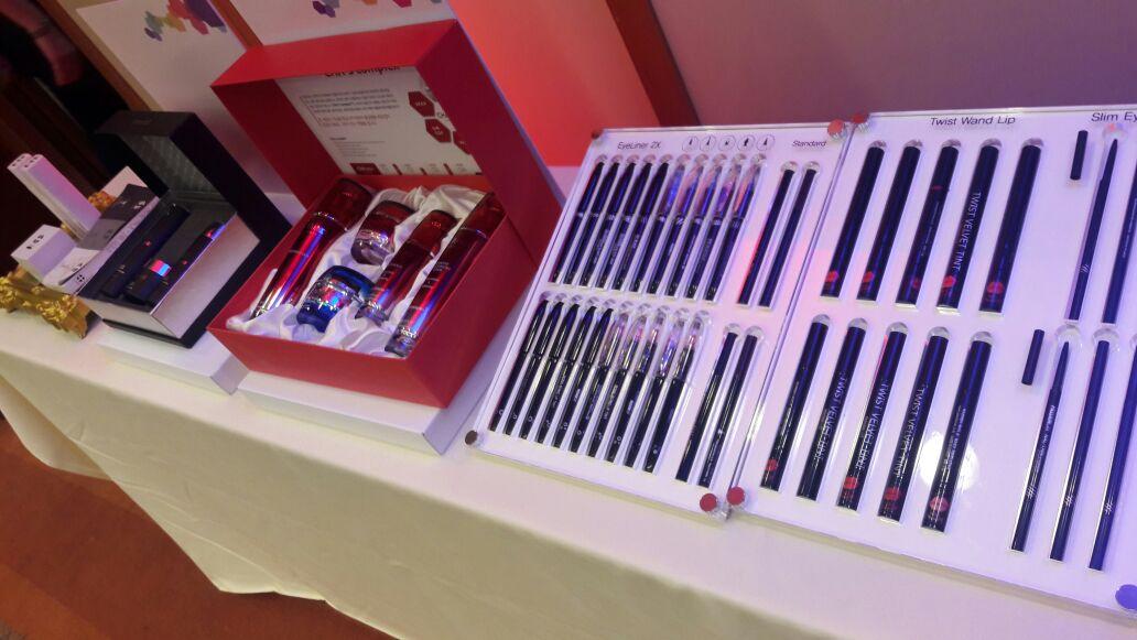 Vários produtos estavam em exposição. Foto: Koreapost