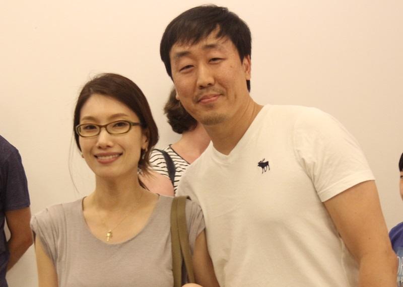 Nosso colunista Bruno Kim e sua esposa Esther, foram prestigiar o evento. Foto: Koreapost
