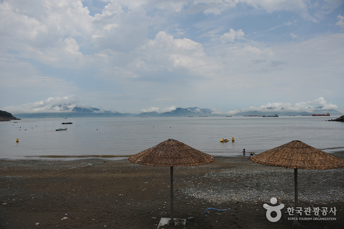 Praia Manseongri. Foto: Visit Korea.